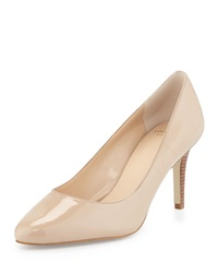 Cole Haan Lena Patent Pointed Toe Pump Maple Sugar