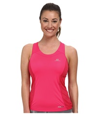 Salomon Agile Tank Top Hot Pink Lotus Pink Women's Sleeveless