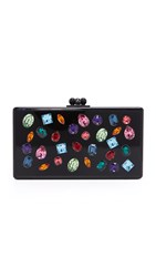 Edie Parker Jean Jewelie Clutch Black Multi