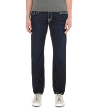 True Religion Ricky Super Tricky Straight Leg Jeans Rocky Point