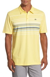 Men's Travis Mathew 'Burnout' Cotton Jersey Golf Polo