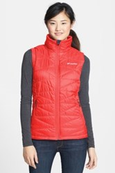 Columbia Mighty Lite Vest Red