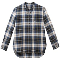 Lee Oversized Check Shirt Bronswick Green