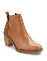 Miista Kendall Leather Ankle Boots Natural