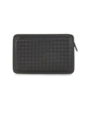 Bottega Veneta Intrecciato Leather Cosmetics Bag