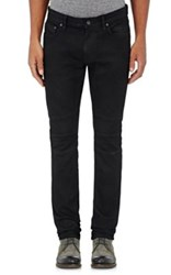 John Varvatos Star U.S.A. Men's Slim Moto Jeans Navy Black Navy Black