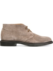 Doucal's Lace Up Boots Grey