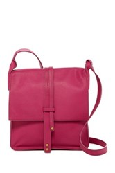 Cynthia Vincent Deliz Leather Crossbody Pink