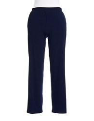 Michael Michael Kors Plus Wide Legged Dress Pants Washed Indigo