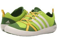 Adidas Climacool Boat Lace Semi Solar Slime Chalk White Raw Lime Men's Shoes