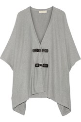 Michael Michael Kors Cotton Blend Cape Gray