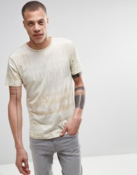 Weekday Jones Camo Print T Shirt In Beige Beige 13 111