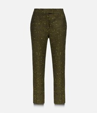 Christopher Kane Skinny Trousers Green