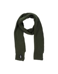 Refrigue Accessories Oblong Scarves Men Dark Green