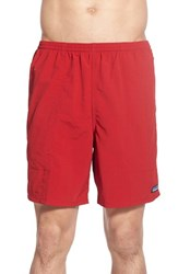 Men's Patagonia 'Baggies Longs' Swim Trunks Classic Red