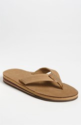 Men's Rainbow '302Alts' Flip Flop Sierra Brown