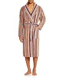 Paul Smith Striped Cotton Terry Robe