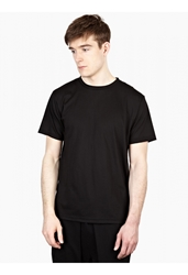Public School Men's Black Cotton T Shirt