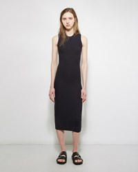 Acne Studios Imani Rib Tank Dress Black
