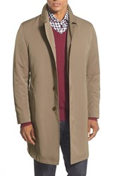 Men's Big And Tall Sanyo Trench Coat Dark Taupe