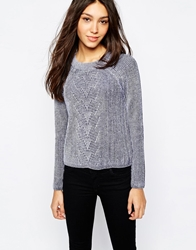 Jack Wills Ribbed Jumper Navy