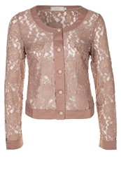 Cream Lucinda Summer Jacket Blossom Taupe