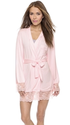 Wildfox Couture Best Friends Lace Dressing Robe Blushing Bride