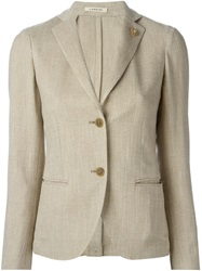 Lardini 'Lavanda' Blazer Nude And Neutrals