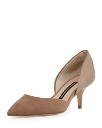 French Connection Effie Pointed Toe D'orsay Pump Hazelwood