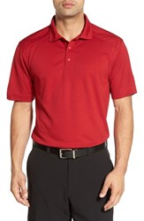 Cutter And Buck Men's Big Tall 'Genre' Drytec Moisture Wicking Polo Cardinal Red