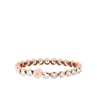 Michael Kors Crystal Rose Gold Tone Tennis Bracelet