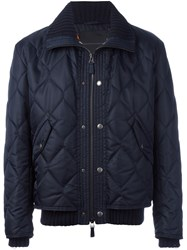 Ermanno Scervino Quilted Jacket Blue