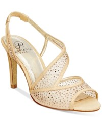 Adrianna Papell Andie Evening Sandals Women's Shoes Powder Sand