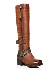 Moda In Pelle Galante Low Casual Long Boots Brown
