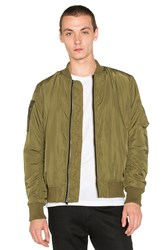 Unif Nothing Bomber Jacket Army