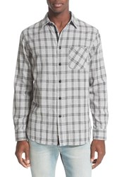 Rag And Bone Men's 'Beach' Trim Fit Plaid Shirt