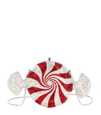 Judith Leiber Crystal Candy Clutch Female Multi