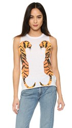Chaser Double Tiger Tank White
