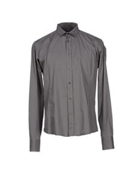 S D Side Shirts Steel Grey