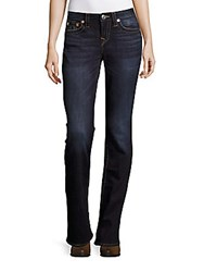 True Religion Whiskered Bootcut Jeans Blue