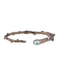 Twig Bracelet With Diamond And Blue Topaz Michael Aram