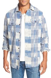 Men's Tailor Vintage Regular Fit Ikat Sport Shirt