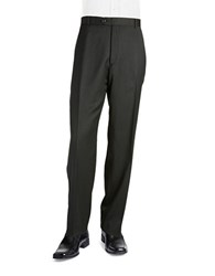 Palm Beach Cole Flat Front Suit Pant Charcoal