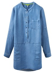 Joules Eden Woven Tunic Shirt Chambray