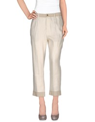 Tela Trousers Casual Trousers Women Light Grey