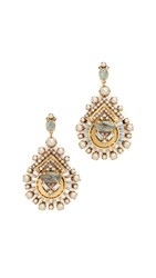 Elizabeth Cole Ava Earrings Blush