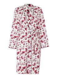 Cyberjammies Stephanie Floral Lightweight Robe Pink