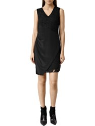 Allsaints Arlow Lace Dress Black