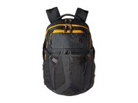 The North Face Recon Asphalt Grey Citrine Yellow Backpack Bags Gray