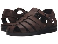 Mephisto Sam Dark Brown Oldbrush Men's Sandals